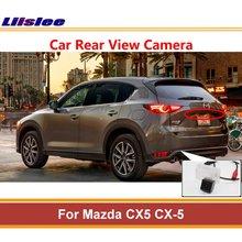 Liislee для Mazda CX5 CX-5~, камера заднего вида, камера заднего вида, парковочная камера, лампа для номерного знака, ночное видение, авто камера