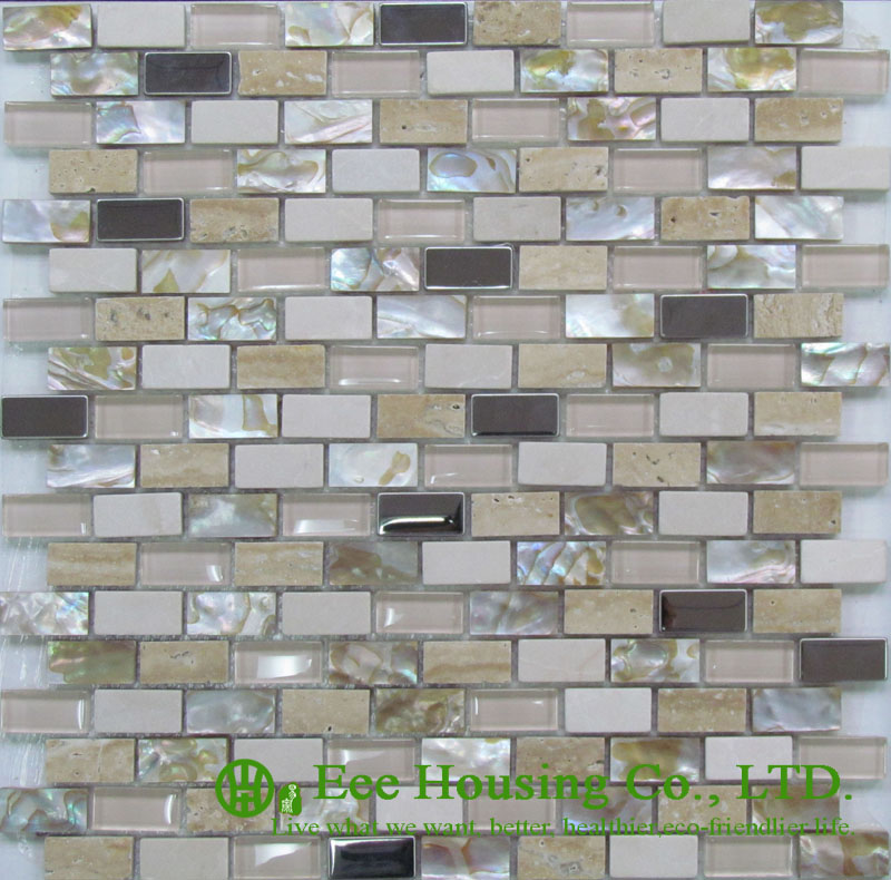 300mm*300mm Shell Series Mosaic Tile Factory In China For House Decoration