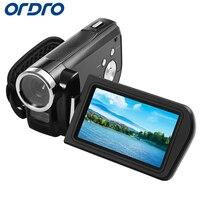 Ordro 3.0 inch HDV Z3 Rotation Screen 1080P Full HD Reflex Digital Cameras Professional Video Recorder 24MP CMOS Photo Camera