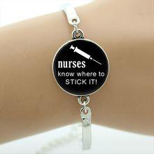 Nurse Bracelet Quotes Women Bracelet