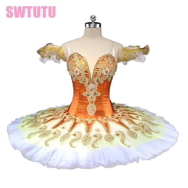 d29694b771 placeholder new princess florina orange peformance ballet tutu women blue  bird pancake ballet tutu professional ballet stage