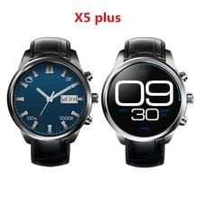 """Nowy finow x5 plus smart watch android 5.1 mtk6580 quad 1.39 """"Amoled 400*400 Karty SIM WIFI Tętna Zegarek Dla iOS/Andorid"""