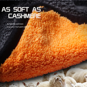 Image 5 - 38x45 Car Care Polishing Wash Towels Plush Microfiber Washing Drying Towel Strong Thick Plush Polyester Fiber Car Cleaning Cloth