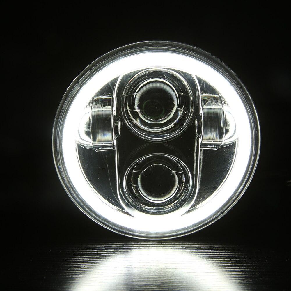 For Motor Street 750 Led Headlight 5 3/4 motor lamp led motorcycle headlight h4 led 5.75 inch motor sportster 883