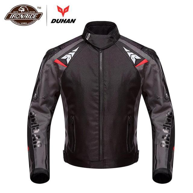 Duhan Motorcycle Jacket Moto Men Winter Waterproof Cold Proof Biker