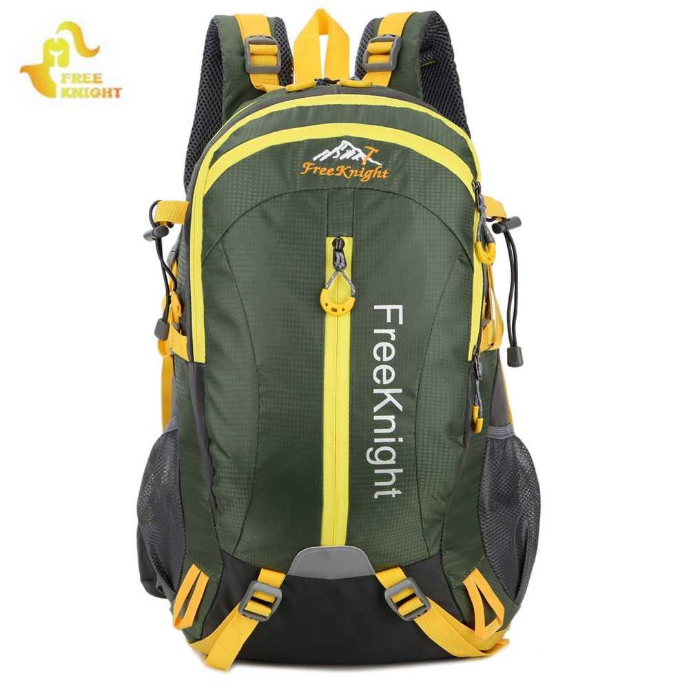 6d1fe40cb2 ... Free Knight 30L Men Women Outdoor Backpack Hiking Rucksack Waterproof  Sport Bags Mountaineer Climbing Bag Camping ...