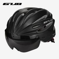 Gub Ultralight Bicycle Helmet Goggles For Men Road Cycling Mtb Mountain Bike Helmet Visor Lens Glasses