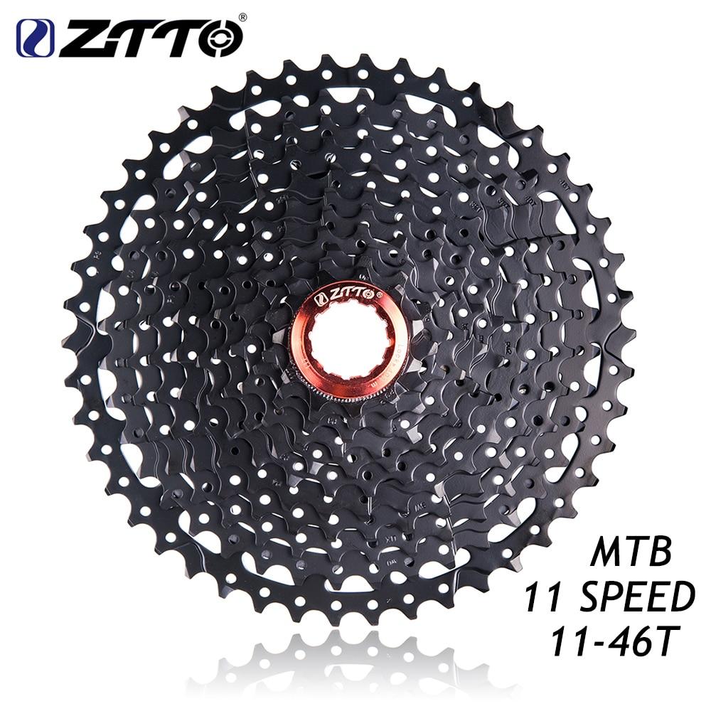 ZTTO 11-46 T 11 vitesses vtt VTT pièces de vélo roue libre Cassette pour K7/pièces XT SLX M7000 M8000 M9000