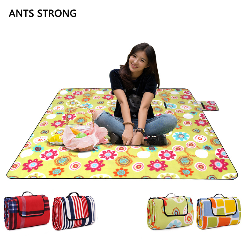 ANTS STRONG moisture-proof thickening BBQ picnic mat/duet barbecue cushion outdoor children crawling pad