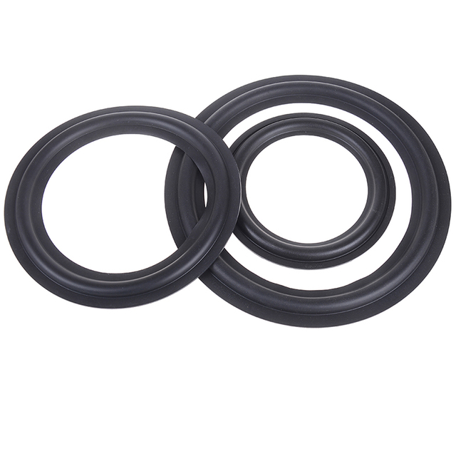 1 pc altavoz de reparación de borde anillo altavoz Subwoofer reparación accesorios DIY para 6,5 pulgadas 8 pulgadas 10 pulgadas altavoz