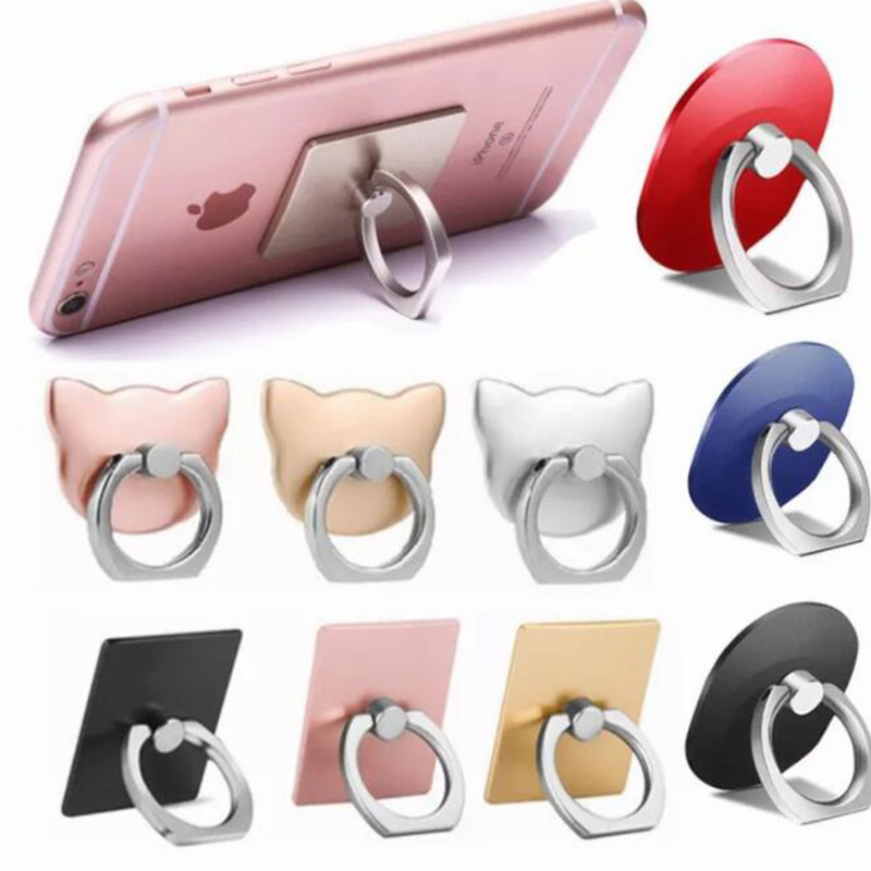 360 Degree Finger Ring Mobile Phone Smartphone Stand Holder Mount For IPhone IPad Xiaomi All Smart Phone