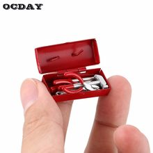 AX 10013A Mini RC Decoration Tool Set Box Case Kit Accessories Part for 1/10 RC Car Crawler Axial SCX10 RC4WD D90 D110 TF2 ti(China)