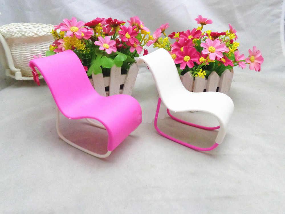 1 шт. мебель качалка пляжное кресло для бара-Би кукла принцесса мечта дом аксессуары детские подарки
