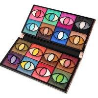 FRÄULEIN ROSE 80 Farbe Lidschatten-palette Set Bilden Pallete Make-Up Kit Kosmetik Neue Stein Tasche 80 Farbe Lidschatten