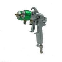 Sat1189 профессиональный двойной сопла Пистолеты распылители для автомобиля Краски ing пневматические Краски Инструменты Мощность инструмент