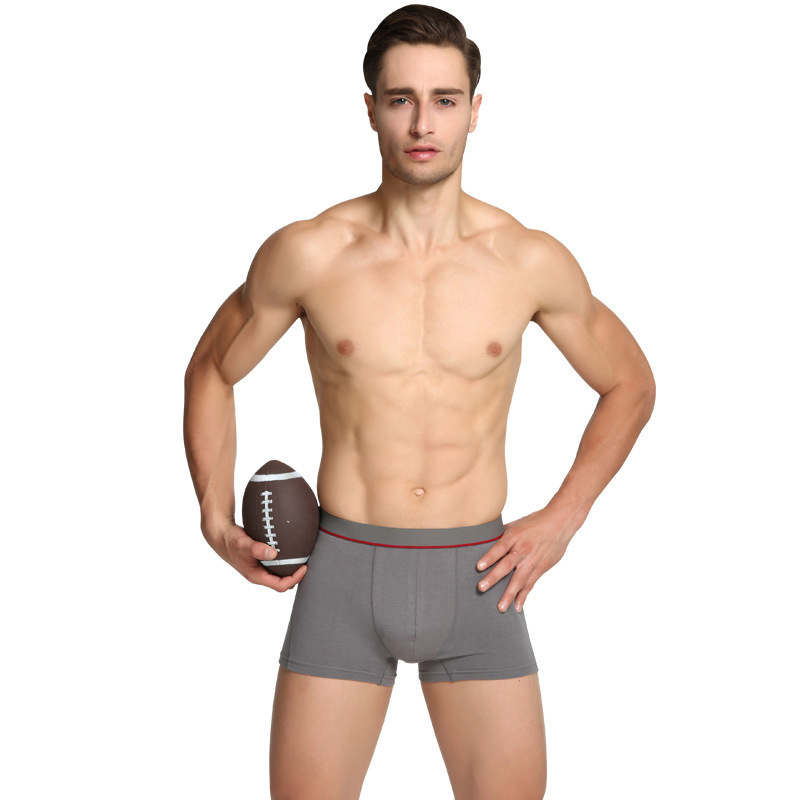 6pcs/lot wholesale Mens Modal Underwear Solid Color Mid-Rise Mens Underwear Boxers Shorts Free Shipping AXD2009