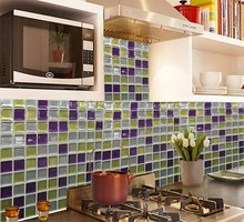 Free Shipping New Creative Products Quote Wallsticker  23x23cm vinyl Mosaic Wall Tile