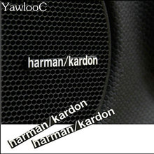 3D Harman/Kardon hi-fi speaker stereo speaker aluminum badge emblem Sticker Car Accessories Styling