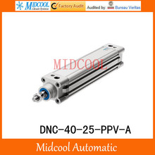 DNC-40-25-PPV-A Pneumatic Cylinder DNC series Standard Cylinder Double Acting FESTO Type