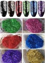 7 Colors 10g /bag  Chrome Mirror Flakes Metallic Powder Nails Nail art Gel Decoration Effect Pigment