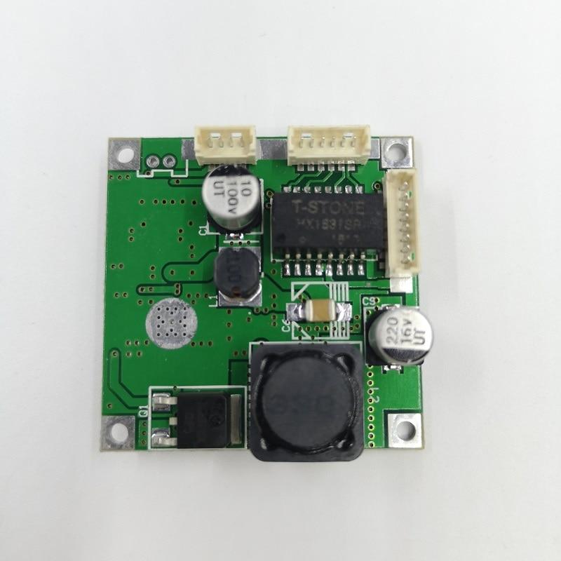Ethernet switch 5port PBC PCBA mini design ethernet switch circuit board for ethernet switch module 10/100mbps 5 port PCBA board