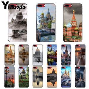 Yinuoda The Russian Federation Moscow Saint Petersburg Night Phone Cover for Apple iPhone 8 7 6 6S Plus X XS MAX 5 5S SE XR Case(China)