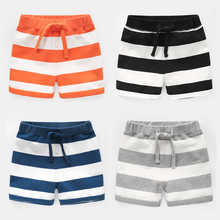 2019 Baby Boys Shorts Fashion striped Kids Summer Trousers Childrens cotton Clothing boys trousers clothes