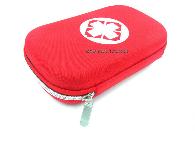 New High-quality  first aid kit item  first aid survival bag Outdoor Mini First Aid kit  size 20*14 *5CM #JM007