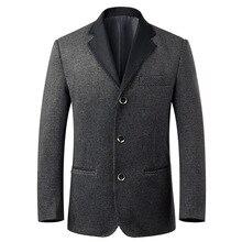 Мужская шерсть шерстяные костюм мужчины мода блейзеры уменьшают подходящий костюмы костюм Homme блейзер куртка свободного покроя пальто(China (Mainland))