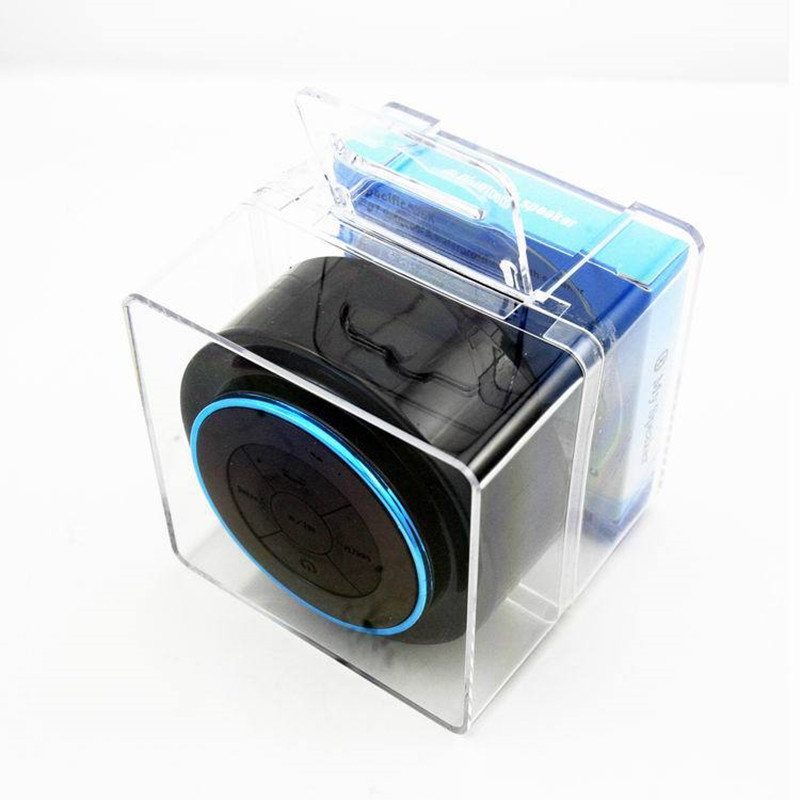 bluetooth speaker bathroom radio mini waterproof wireless speaker shower bathroom portable handsfree call stereo speakers ip67 in portable speakers from - Bathroom Radio