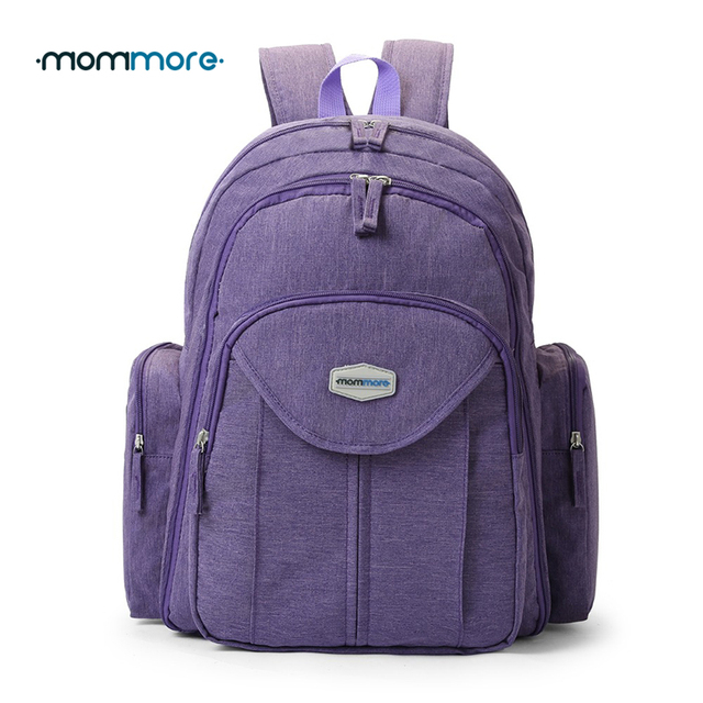 mommore Large Baby Nappy Bag with Changing Pad Baby Diaper Backpacks Mummy Diaper  Bags Multifunctional Picnic Cloth Backpacks 97653c2977563