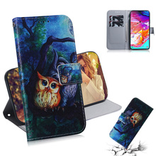 2019 Hot Flip Wallet Case For Samsung Galaxy A70 A20 A10 E Note 10 Pro Leather Cover A50 A40 A30 Mobile Phone Bag