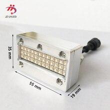 קטן UV דיו ריפוי מנורות עבור איפקס UV6090 שטוחה מדפסת Sunjet Epson DX5 ראש צילום דיו מדפסת לרפא 395nm cob UV led אור