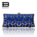BAGSMART 2017 Hollow Out Ladies Evening Party Small Clutch Bag Evening Bag Wedding Party Bridal Purse Handbag Evening Clutch