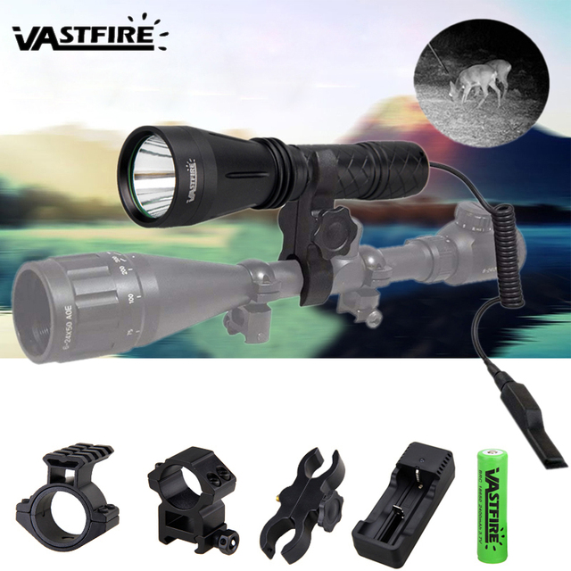 400 Yard Scope Flashlight Night Lamp Mount hunting Air   Torch