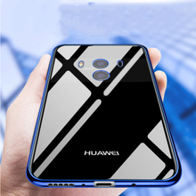 Xinchentech For Huawei Mate 10/Mate 10 Pro Case Luxury Gilded TPU Cover silicone Coque Accessory Capa For Mate10/Mate10pro Funda
