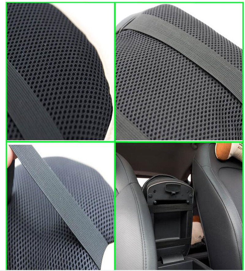 Car Leather Central Armrest Console Box Pad Cover For Toyota Camry Corolla RAV4 Yaris Highlander/Land Cruiser Car-Styling