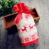 LAPHIL 10pcs Christmas Tree Christmas Gift Bags Lot Santa Claus Gift Bags Xmas Candy Bag Merry Christmas 2018 New year Favors 4