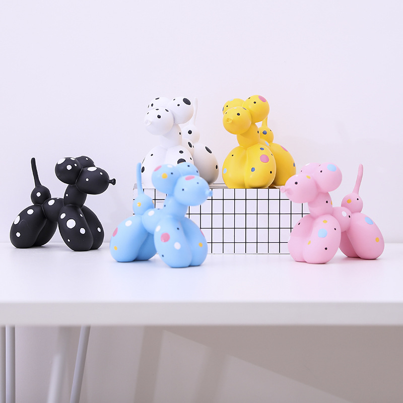 Modern Abstract Resin Craft Balloon Dog Shape Statue Ornaments Home Decoration Accessories Resin Dalmatian Statue SculptureModern Abstract Resin Craft Balloon Dog Shape Statue Ornaments Home Decoration Accessories Resin Dalmatian Statue Sculpture