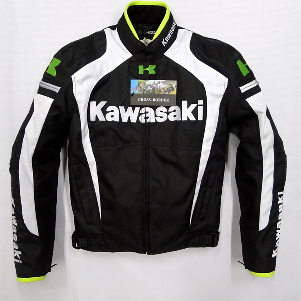 Motorcycle Racing Team White/Green Jacket Japan for Kawasaki Clothing & Protection радиоуправляемая игрушка shenglong racing team red white 757879