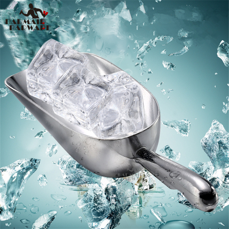 6oz/24oz/58oz Aluminium Alloy Ice Scoop Food Flour Candy For Bar Commercial Kitchen Tool