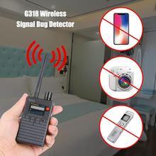 G318 Беспроводной сигнальный обнаружитель подслушивающих устройств откровенный Камера gps для определения местоположения gps трекер сканер частоты уборочная машина защита Wi-свяжитесь с нами