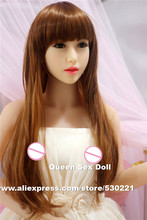 NEW Top quality 153cm real silicone sex dolls with metal skeleton, full size love dolls, oral anal small breast china sex doll