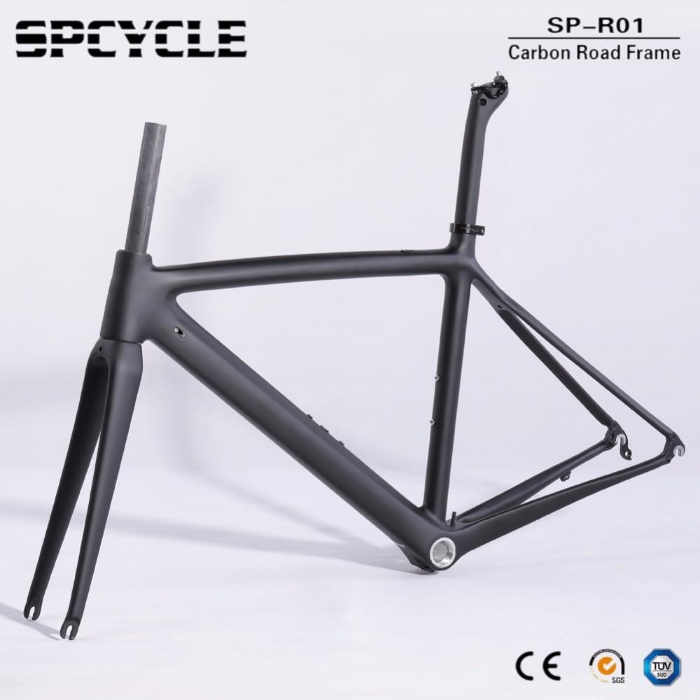 195de2de3e0 2019 700C Full Carbon Fiber Road Bike Frames,T1000 Racing Bicycle Carbon  Framesets,Cycling Road Bike Frames Forks Seatposts