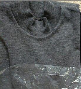 Image 3 - Schwere Qualität 350GSM 100% Australien Merino Wolle Herren Langarm Hemd Rollkragen, Merino Wolle Rollkragen Baselayer, Stretch Rippe