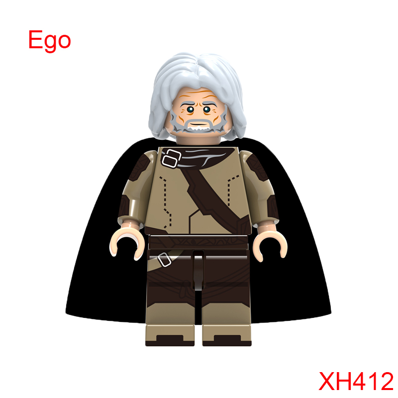 Single Sale Ego Building Block Mini Action Figure Super Heroes Star Wars Mini Doll Christmas Toys For Children Xh412