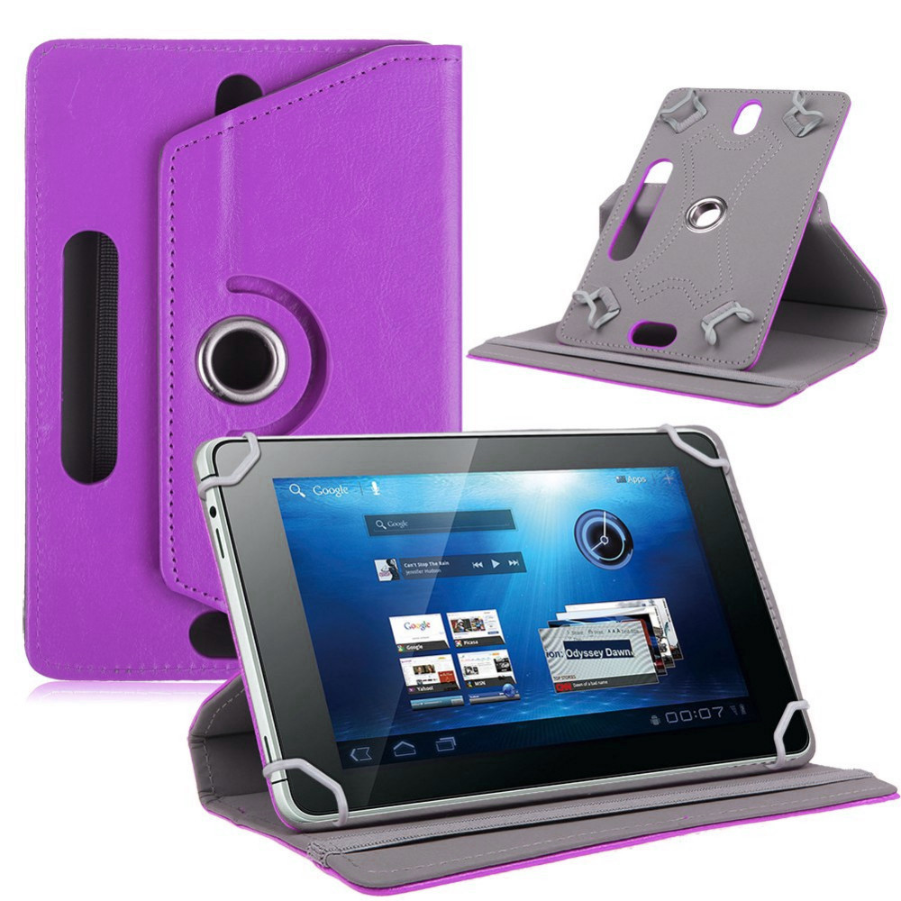 Myslc Universal 360 degree roating PU leather case For Digma Plane 1505/1512/1516S/1523/1524/1525 3G tablet pc Protective Cover