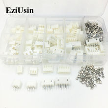 230 Uds XH2.54 2p 3p 4p 5 pin 2,54mm Kit de Terminal/vivienda/Pin Header conector JST conectores de cable adaptador kits XH TJC3(China)