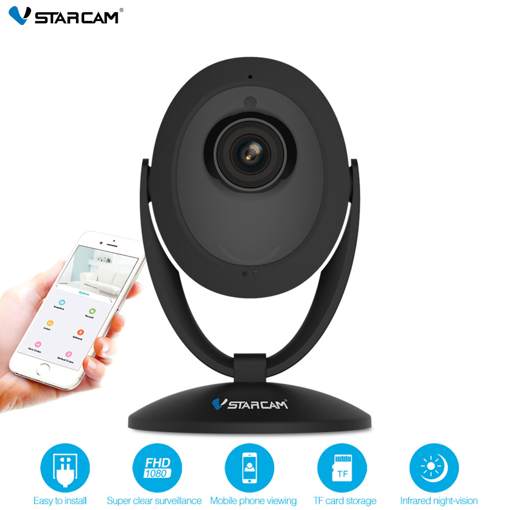 Original VStarcam Wifi IP Camera C93 720P Night Vision 2-Way Audio Wireless Motion Alarm Mini Smart Home Webcam Video Monitor smart mini camera wifi support two way audio night vision sd card onvif motion detect camera with wifi for home security