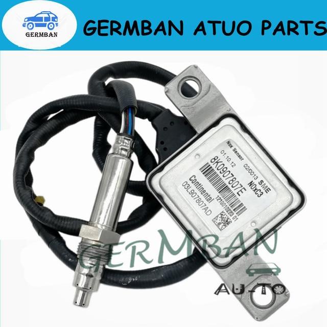 Nueva fabricación de óxido de nitrógeno Sensor de Nox No # 8K0907807E para 12-14 V W Passat 2,0 Audi A4/ s4 A5/S5 A6 8K0907807E 03L907807AD